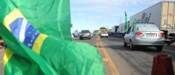 Greve de caminhoneiros parou 60% das indústrias de Mato Grosso do Sul
