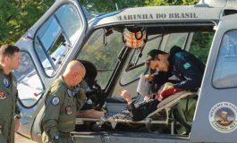 Pantanal: Idosa de 92 anos é resgata pela Marinha quadro de desnutrição e desidratação