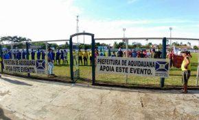Interbairros de Aquidauana começa com mais de 600 atletas inscritos