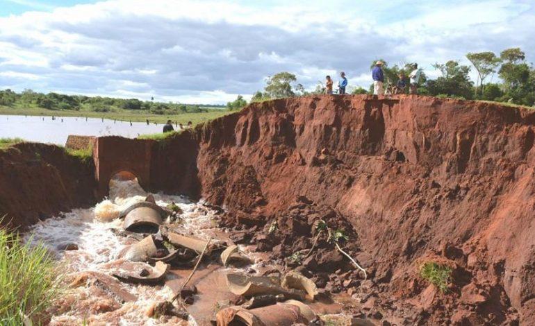 Por conta das chuvas, prefeitura de Itaquiraí decreta situação de emergência
