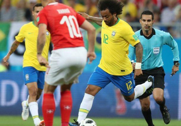 Na esperada estreia, Brasil empata com a Suíça