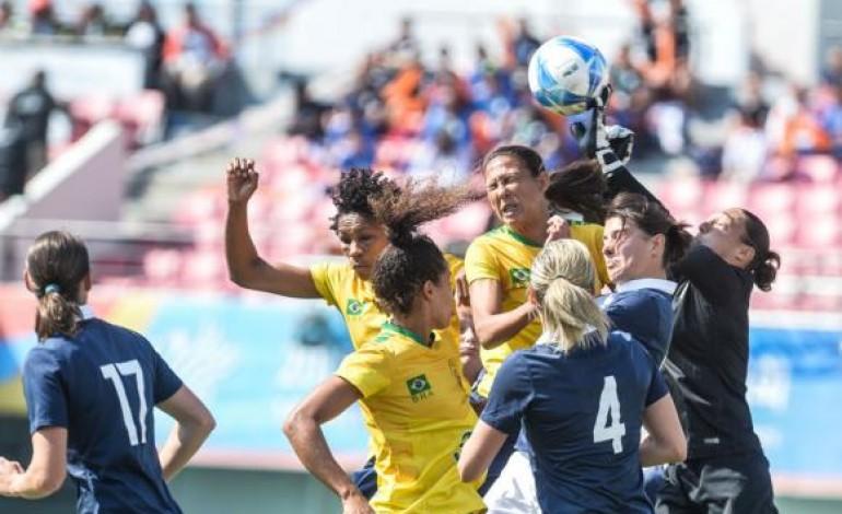 Com gol no fim da prorrogação, Brasil conquista ouro no futebol feminino militar