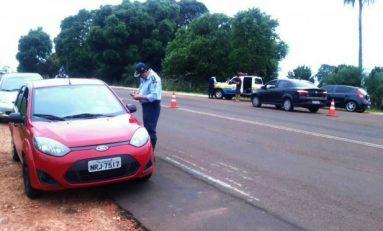 Polícia intensifica fiscalização nas rodovias estaduais