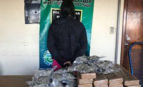 Mulher diz que recebeu 25 kg de maconha como pagamento por semana de sexo
