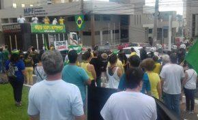 Manifestação na Capital apoia voto impresso e Lava Jato