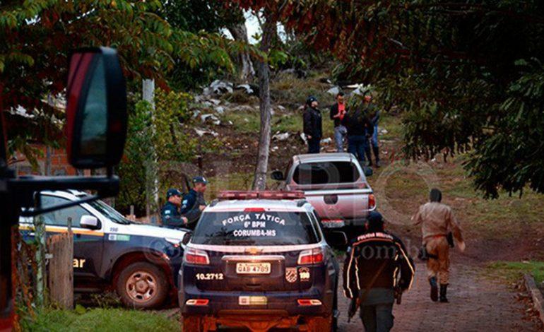 Trio suspeito de roubo em Corumbá, morre em confronto com a PM