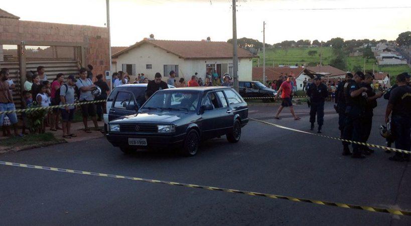 Dois mortos e um ferido em tiroteio na Capital