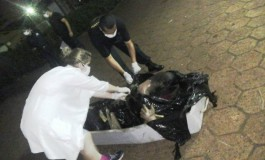 """Cadáver em decomposição é achado """"embrulhado"""" em plástico na fronteira"""