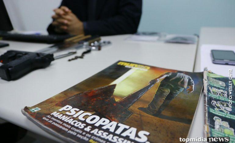 Alegando psicopatia, neto e amigo mataram ex-diretora da Fetems a facadas