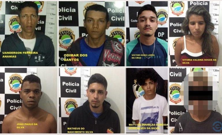 Oito integrantes de facção que participaram de decapitação de jovem são presos