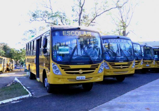 Publicada doação de veículos de transporte escolar para Dois Irmãos e seis municípios