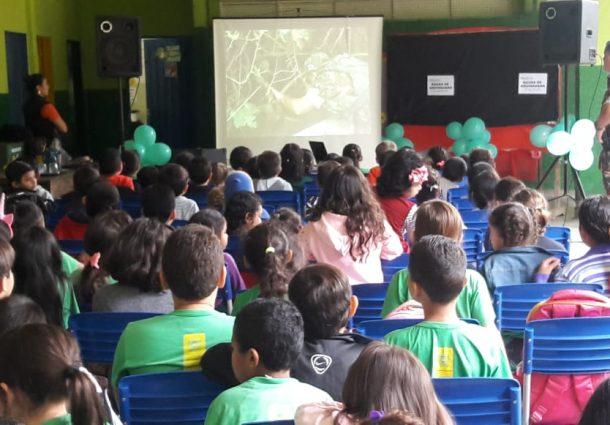 PMA de Aquidauana leva educação ambiental para alunos de escola estadual