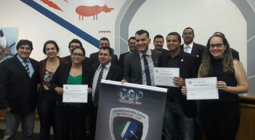 Peritos de Aquidauana são homenageados na Câmara Municipal