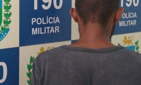 Foragido, Picolé andava pelas ruas de Aquidauana até ser abordado pelo GETAM