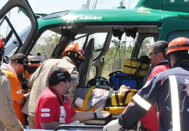 Piloto do Rally dos Sertões sofre queda em trajeto para Aquidauana