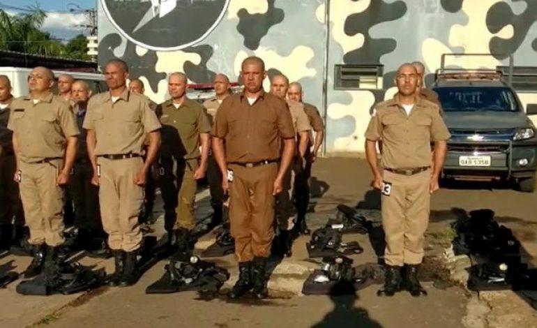 Referência no combate ao crime, Choque recebe visita de policiais de Minas Gerais