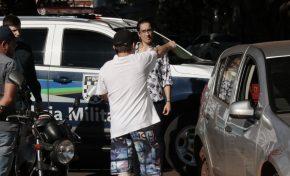 Bandido baleado por policial está entubado em CTI e corre risco de sequelas