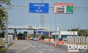 Entram em vigor novos valores do pedágio na ponte sobre o rio Paraguai em Corumbá