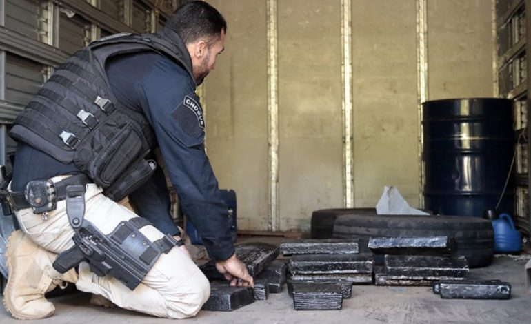 PRF encontra prata pura avaliada em R$ 1 milhão escondida dentro de pneus