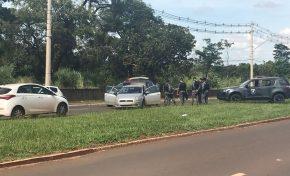 Após perseguição em avenida, PM prende quatro arrastadores na Capital