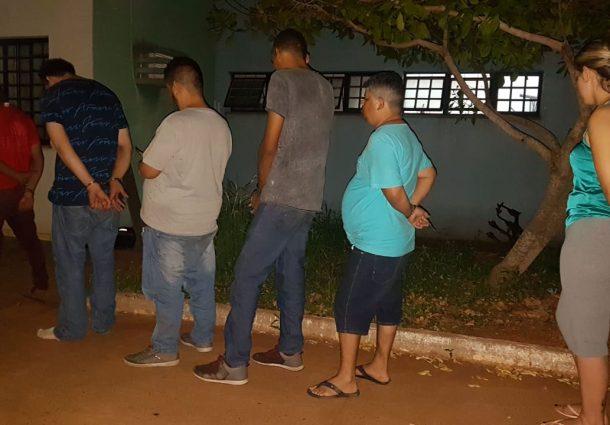 Força Tática do 9°BPM prende quadrilha que tentou aplicar golpe em atacadista na Capital