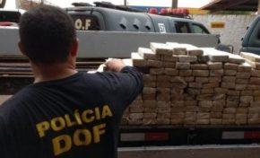 Apreensão de 427 toneladas de droga em 2017 faz MS quebrar recorde