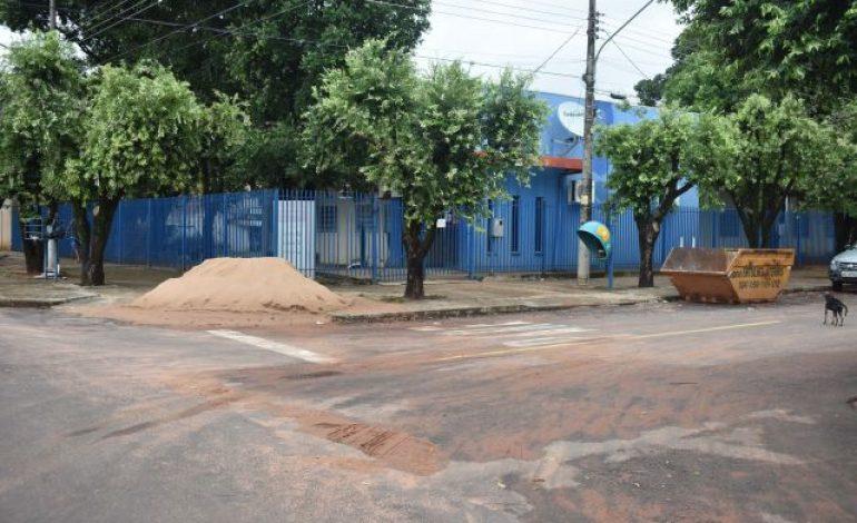 Prefeitura inicia reforma em ESF no Bairro Santa Terezinha
