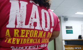 Contra Reforma da Previdência, trabalhadores ameaçam greve geral em MS
