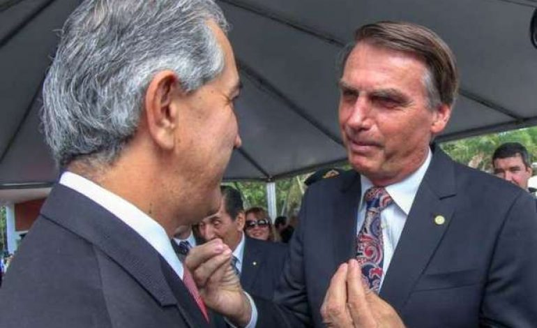 Reinaldo e Bolsonaro irão se reunir para discutir a segurança na fronteira