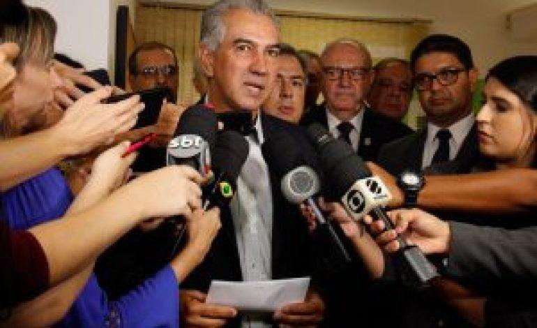 """Reinaldo Azambuja determina """"tolerância zero"""" contra a criminalidade em MS"""