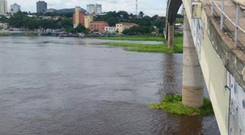Alerta sobre risco de inundação do Rio Paraguai é emitido pela Defesa Civil