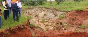 Governo decreta situação de emergência em sete municípios