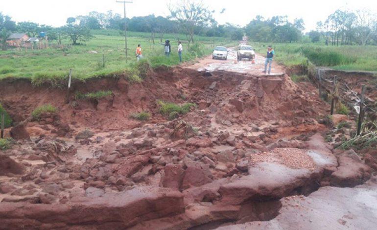 Sete municípios de MS tiveram situação de emergência reconhecida pelo Governo Federal
