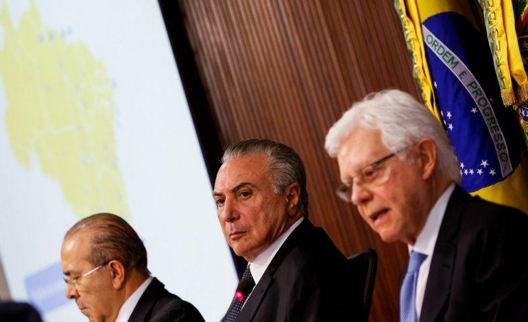 PF pede a quebra de sigilo telefônico de Temer, Moreira e Padilha