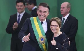 Ministra Tereza Cristina reforça segurança jurídica aos produtores