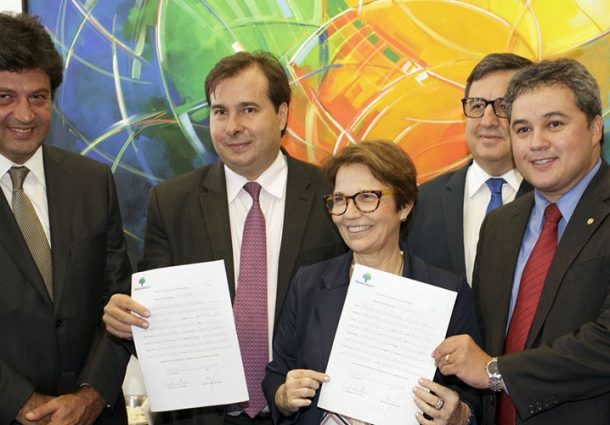 Deputada Tereza Cristina filia-se ao Democratas