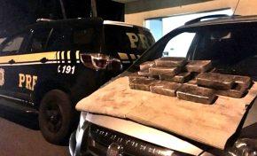 PRF apreende 21 quilos de cocaína em Miranda com destino a Capital