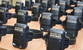 Governo investe mais de R$1,3 mi em 500 novas tornozeleiras eletrônicas