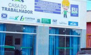 Casa do Trabalhador - Aquidauana oferece vagas de emprego