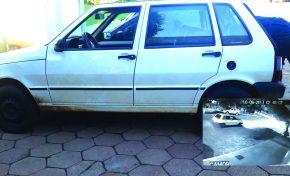Suspeita na participação em onda de furtos está em liberdade; carro da jovem foi visto na madrugada do fato