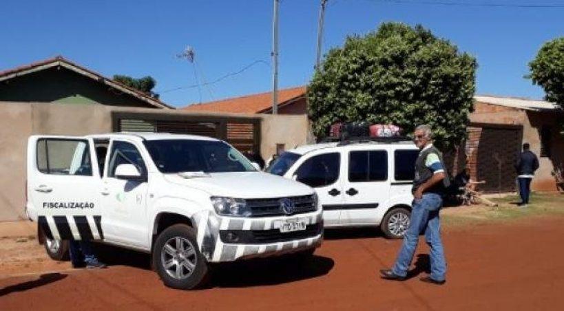 Doblô é flagrada transportando turistas irregularmente entre Aquidauana e Capital