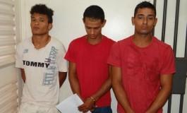GM prende trio acusados de roubo em Dourados